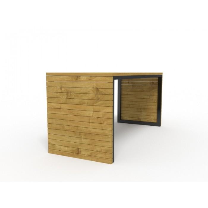 Стол уличный деревянный 4.12